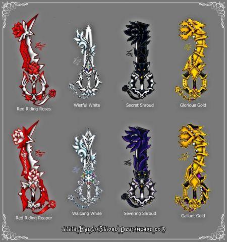 RWBY Keyblades