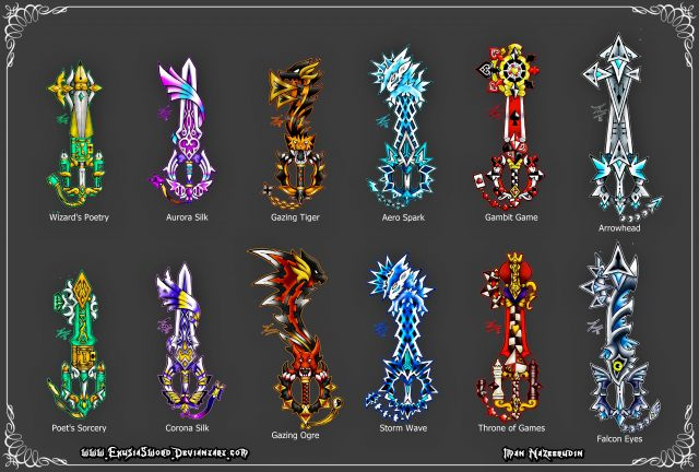Original Keyblades Concept