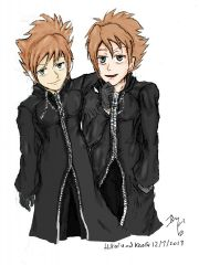 Organisation Cloak: Part 7: Hikaru and kaoru: coloured