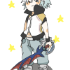 Tiny transparent Riku!