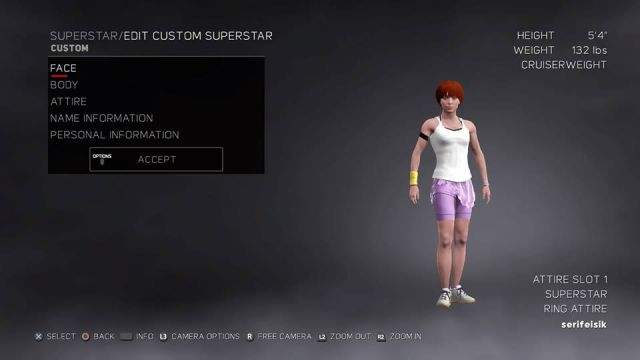 kairi in wwe 2k17 i made her in my ps4