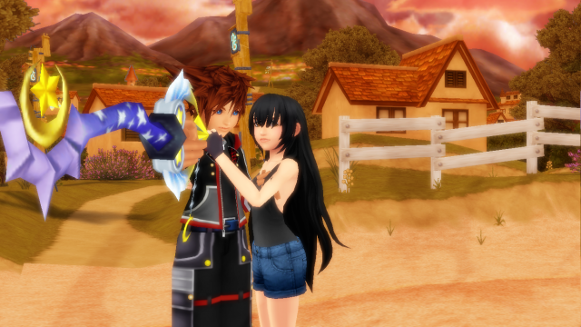 Go away And leave Me And sora alone