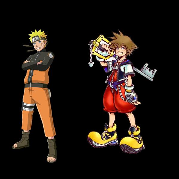 Sora And Riku Vs Naruto And Sasuke Random Forum Games Kh13