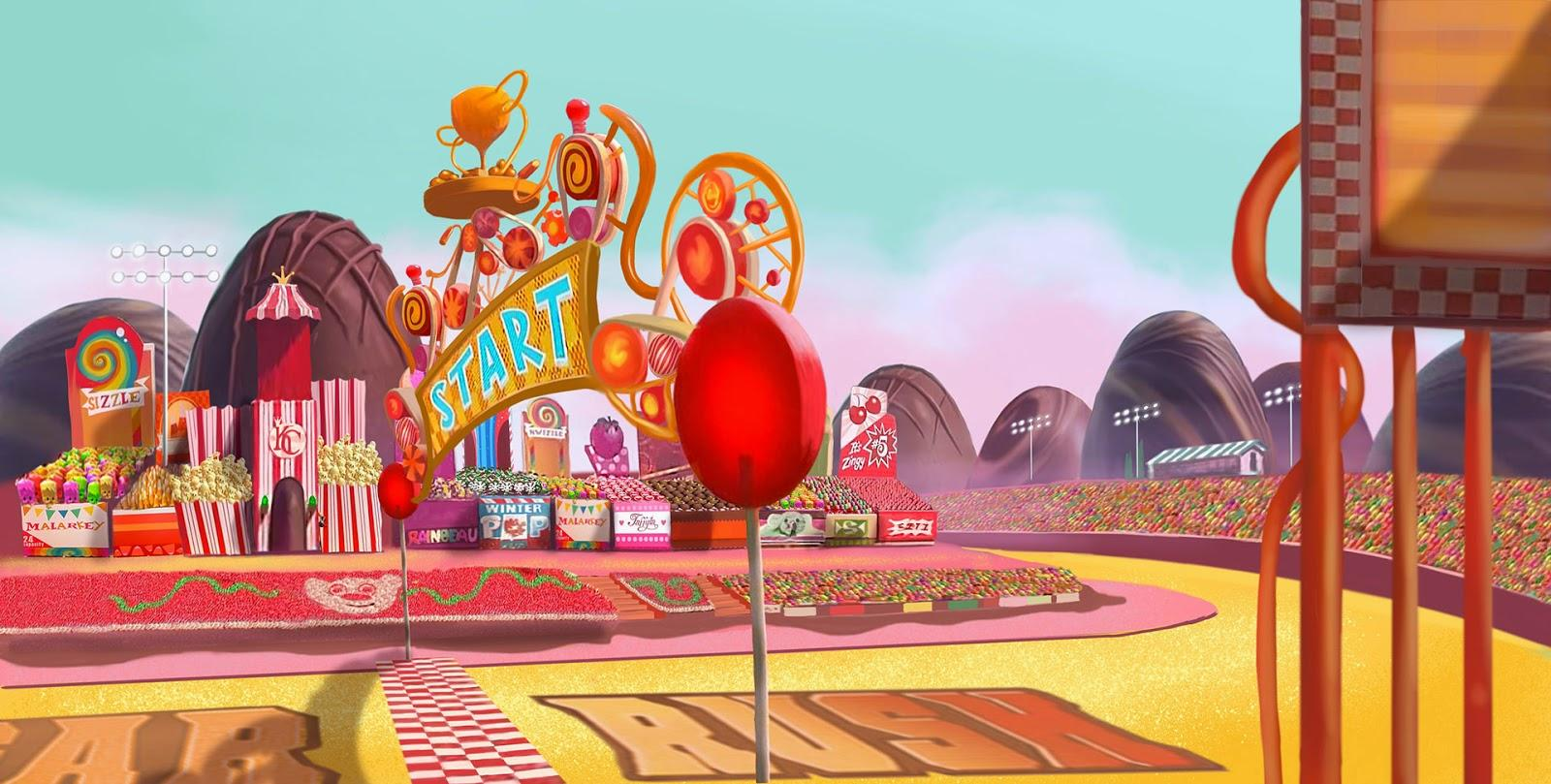 Wreck It Ralph (Cancelled Kingdom Hearts game concept art)