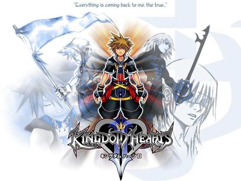 kingdom hearts 2  wallpaper [remixed]