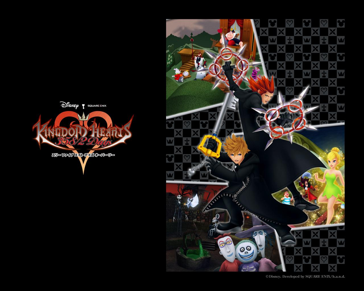 Kingdom Hearts 358 2 Days Wallpaper 3 Wallpapers Kh13 For