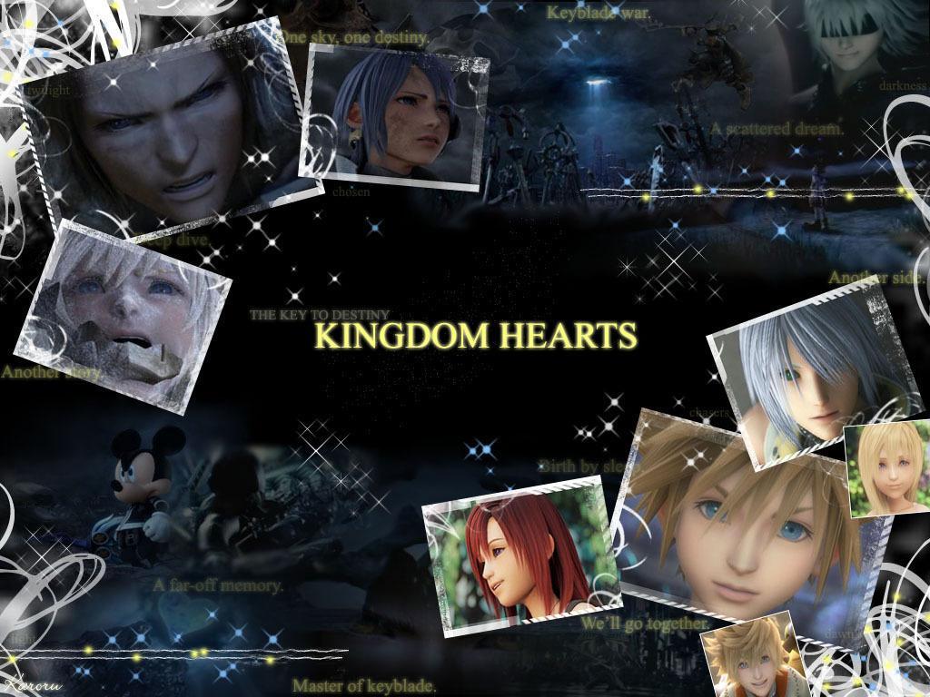 Kingdom Hearts wallpaper [remixed2]