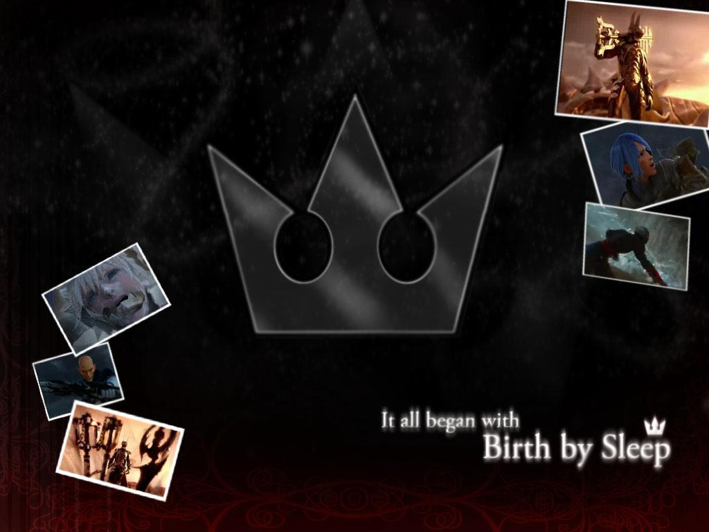 kingdom hearts birth By sleep wallpaper [remix]