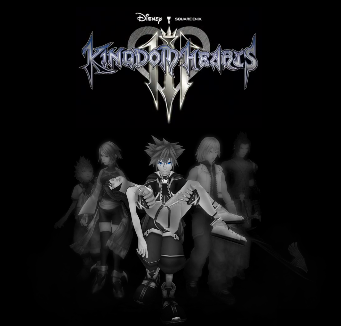 Fanmade Kingdom Hearts III poster