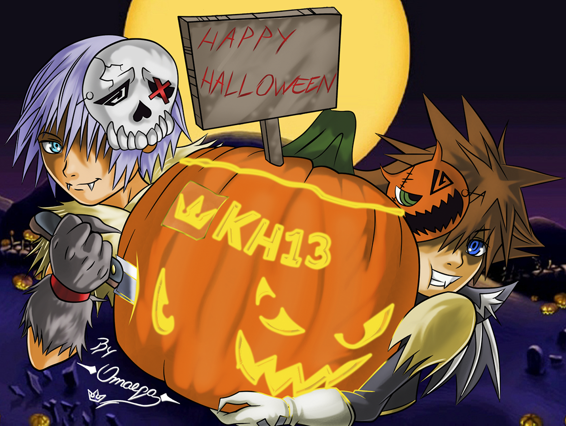 halloween drawing