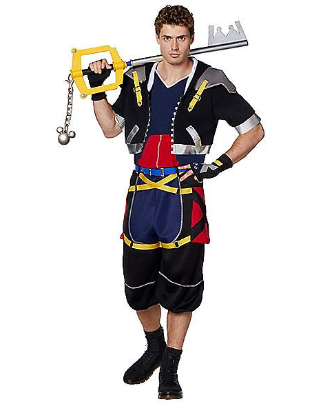 Spirit Halloween Kingdom Hearts Costumes