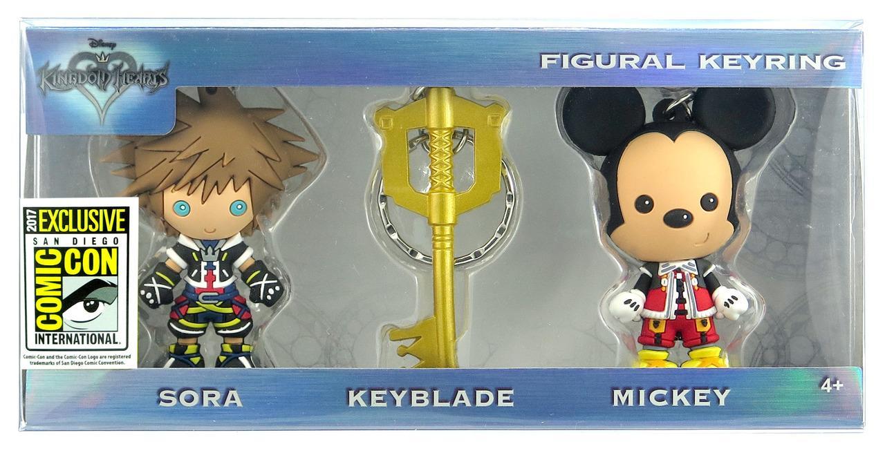 80170 Kingdom Hearts 3D foam KR 3pc Set 2  39496.1504740486