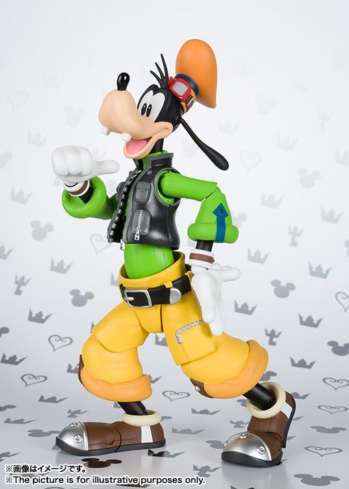 Kingdom Hearts II Goofy S.H.Figuarts
