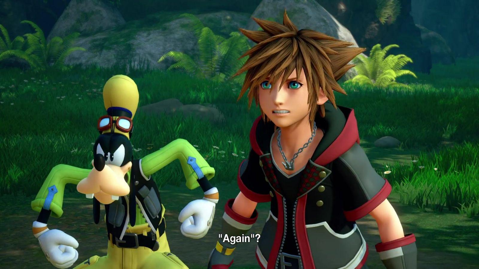 KINGDOM HEARTS III �� D23 Expo Japan 2018 Monsters, Inc. Trailer 085
