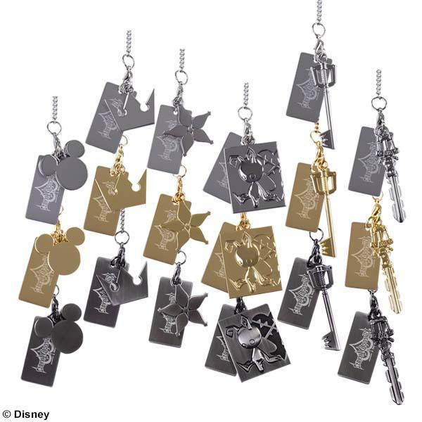 Kingdom Hearts Mini Charm Collection Box