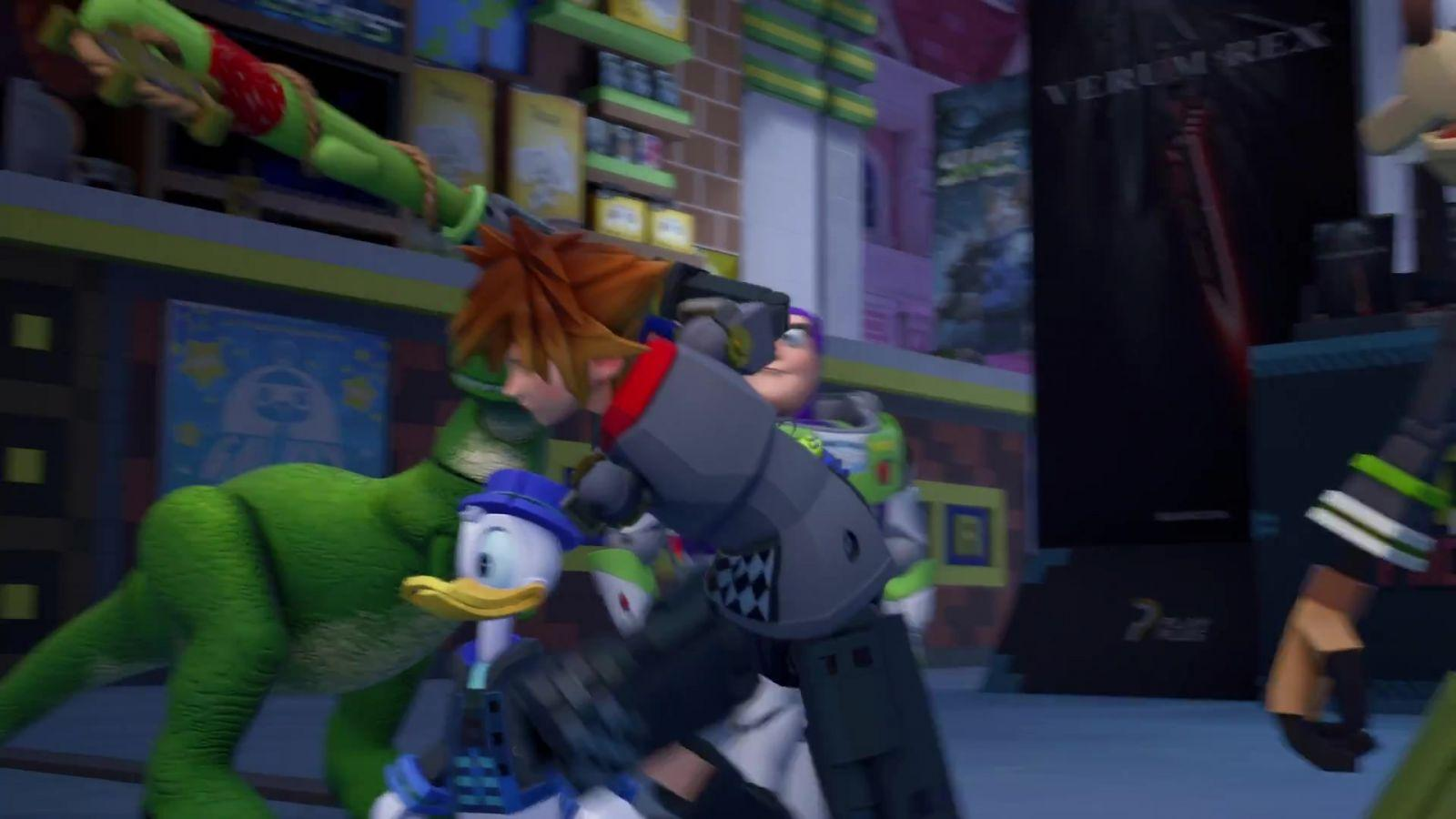 【KINGDOM HEARTS III】TGS 2018 Trailer Short Ver. 103