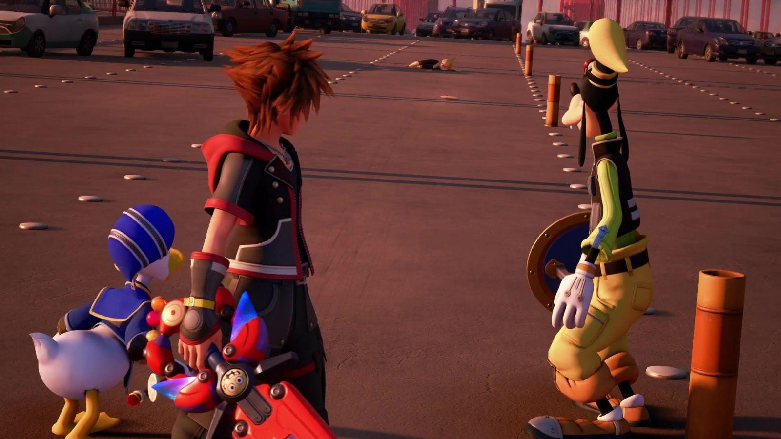 【KINGDOM HEARTS III】TGS 2018 Trailer Short Ver. 027