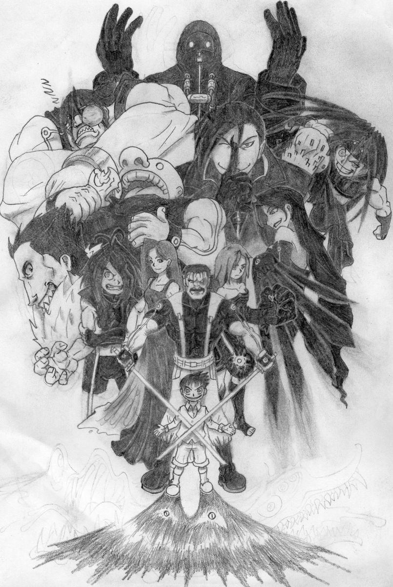 Fullmetal Kingdom ~ Homunculus