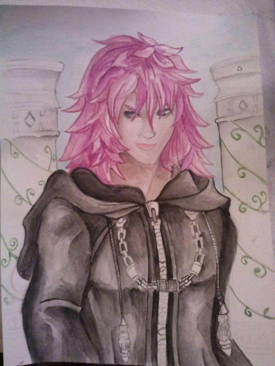 Marluxia - Watercolor