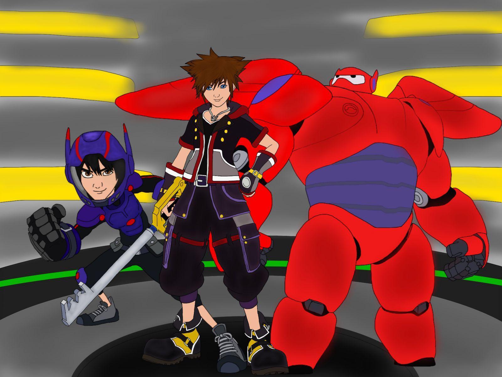 Sora in Big Hero 6