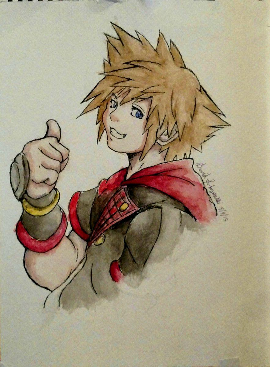 Sora Kingdom Hearts 3 Design Kh X Artwork Drawings Kh13 For