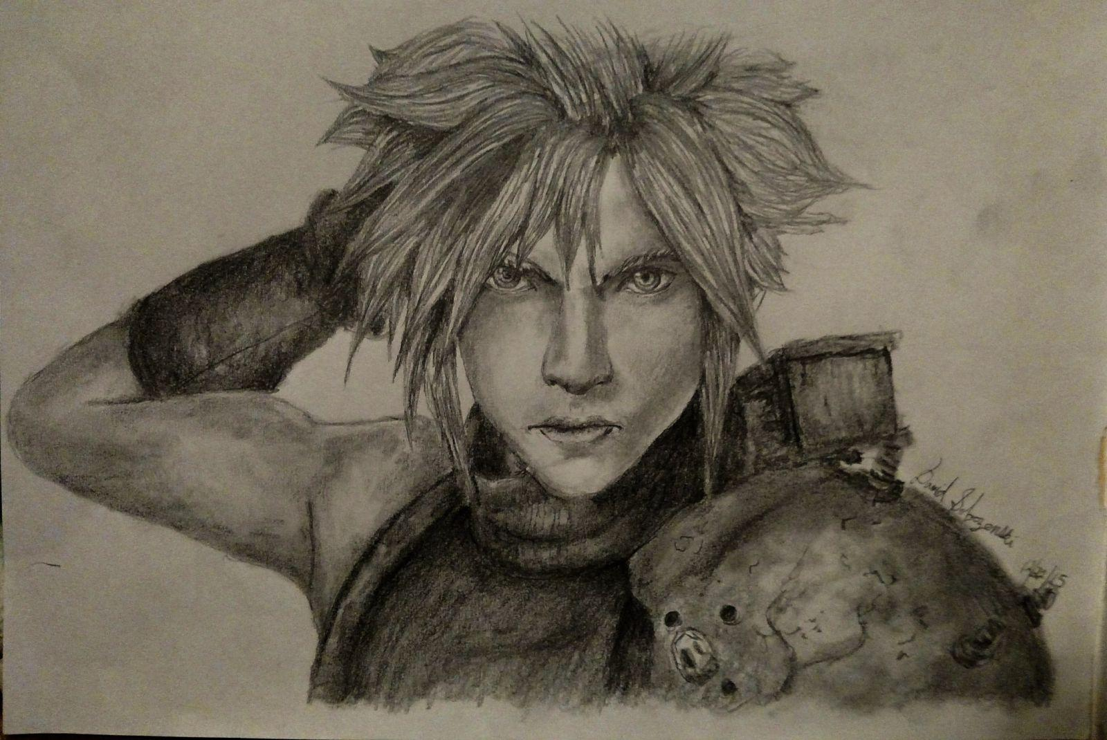 Cloud Strife - Final Fantasy VII Remake