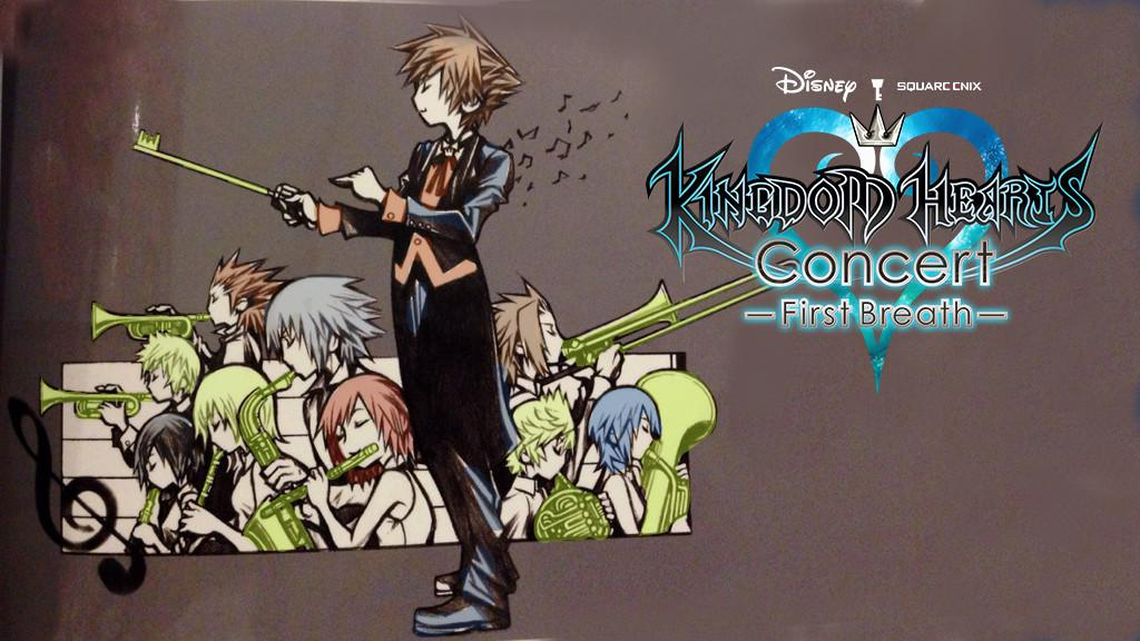 Kingdom Hearts First Breath -Concert- Wallpaper (Colored Edition)