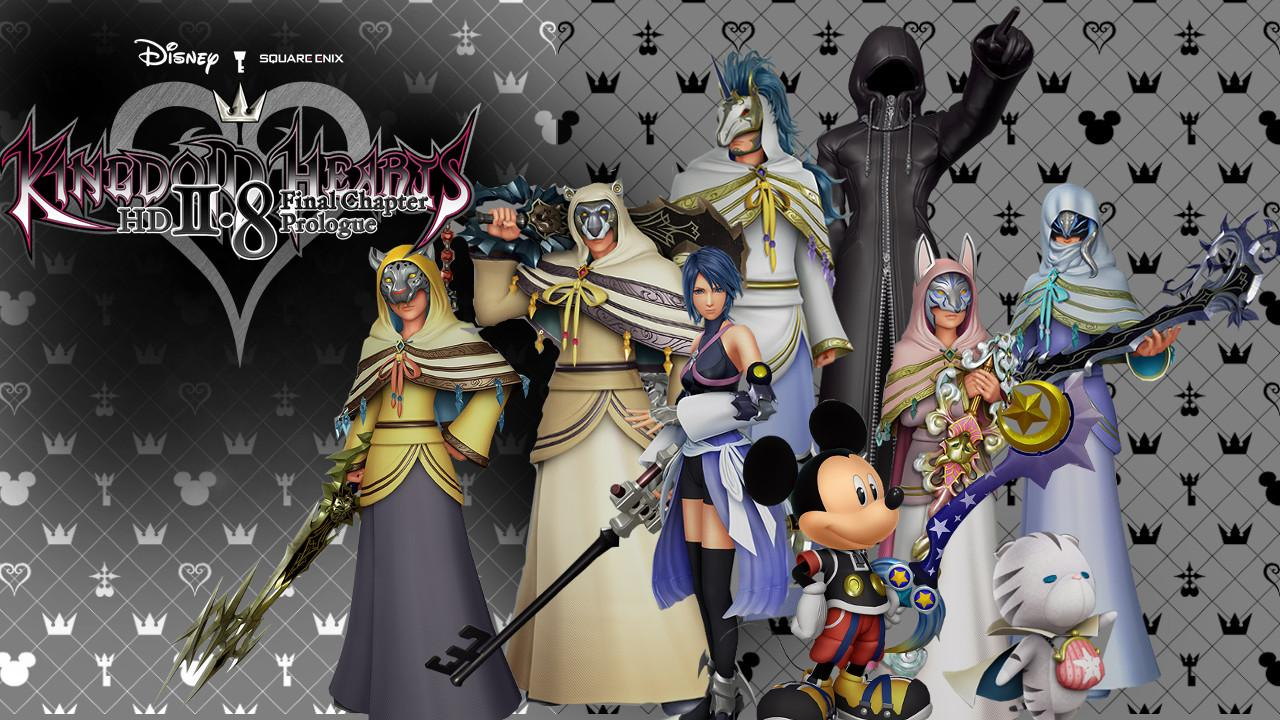Kingdom Hearts 2.8 Character Renders wallpaper