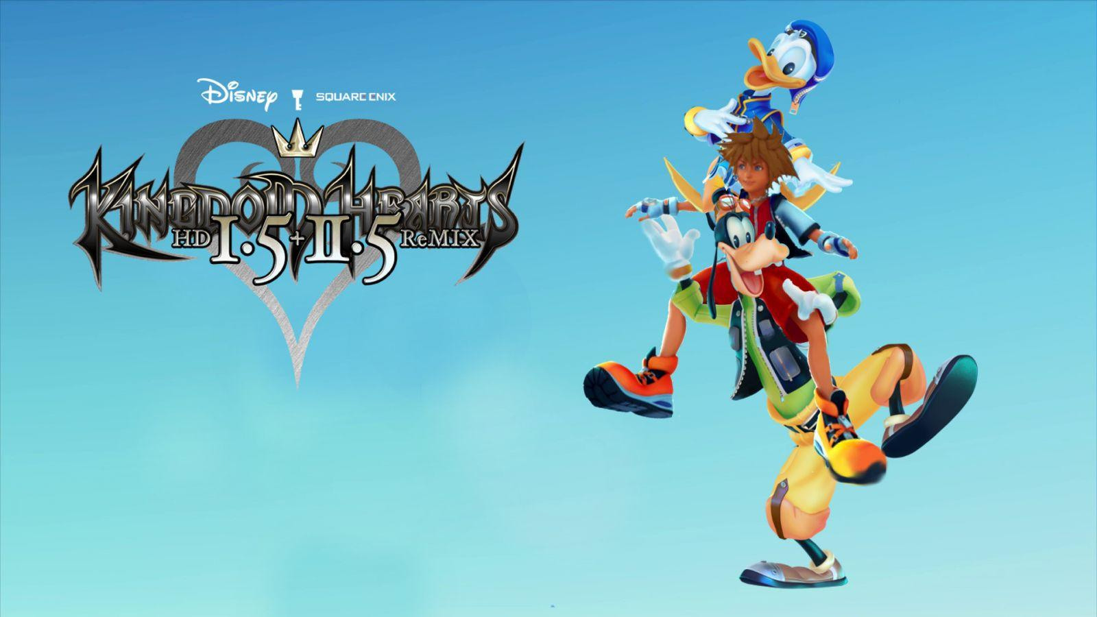 Kingdom Hearts 1.5+2.5 CG wallpaper