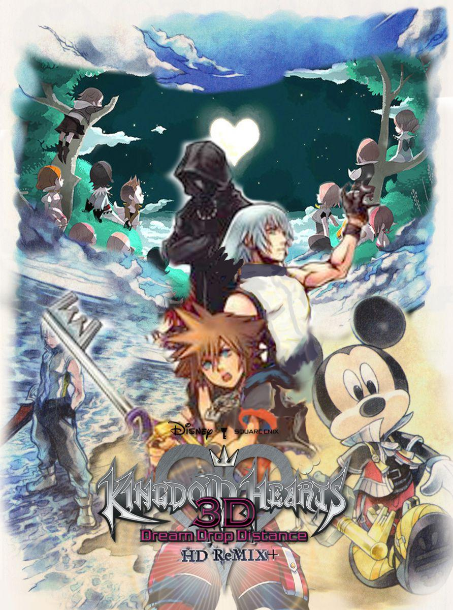 Kingdom Hearts 3d Hd Remix Cover Art Wallpapers Kh13 For