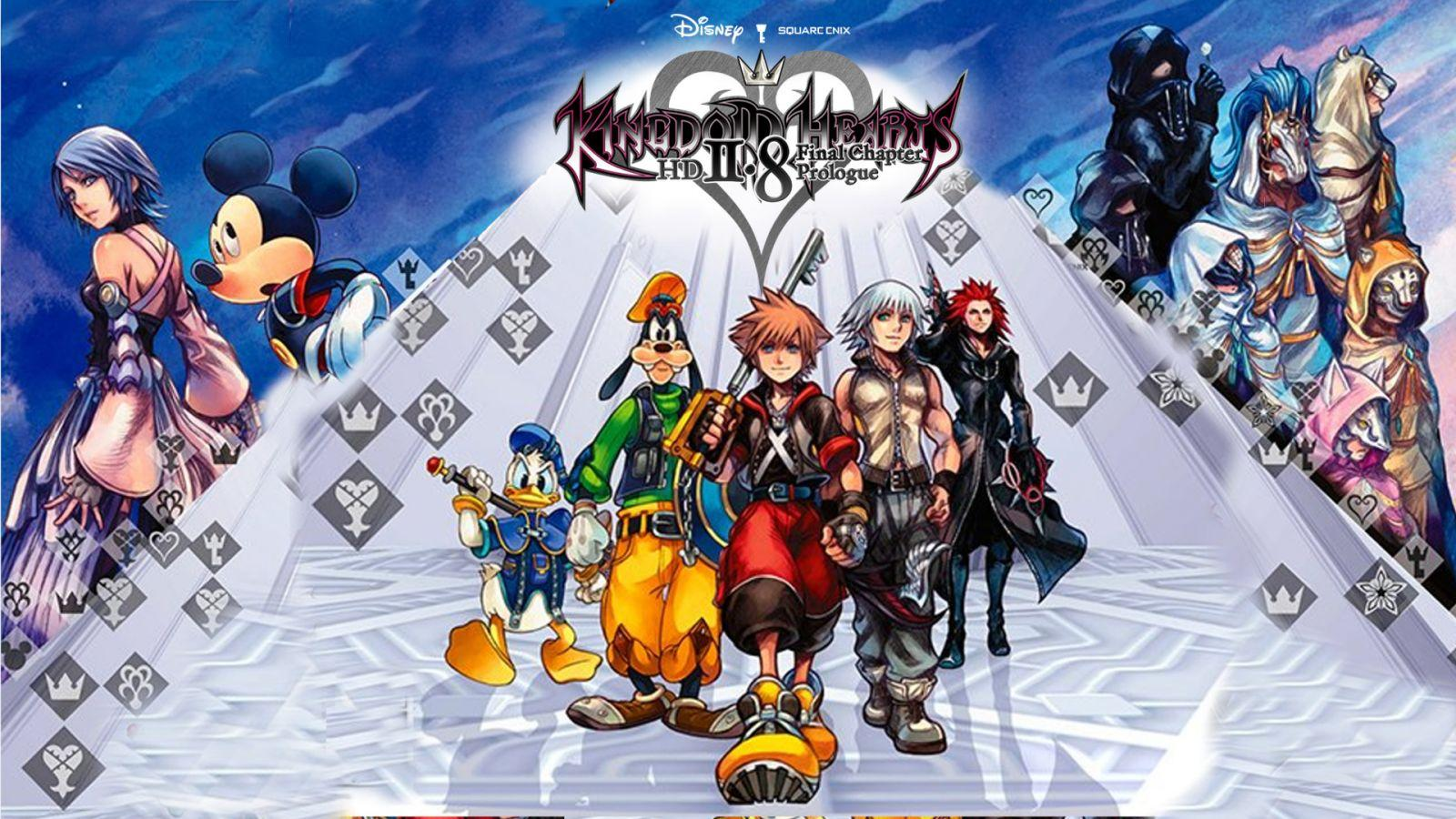 Kingdom Hearts HD 2.8 Cover Art Wallpaper