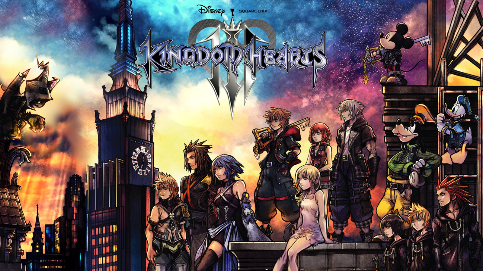 Image result for kingdom hearts 3 wallpaper