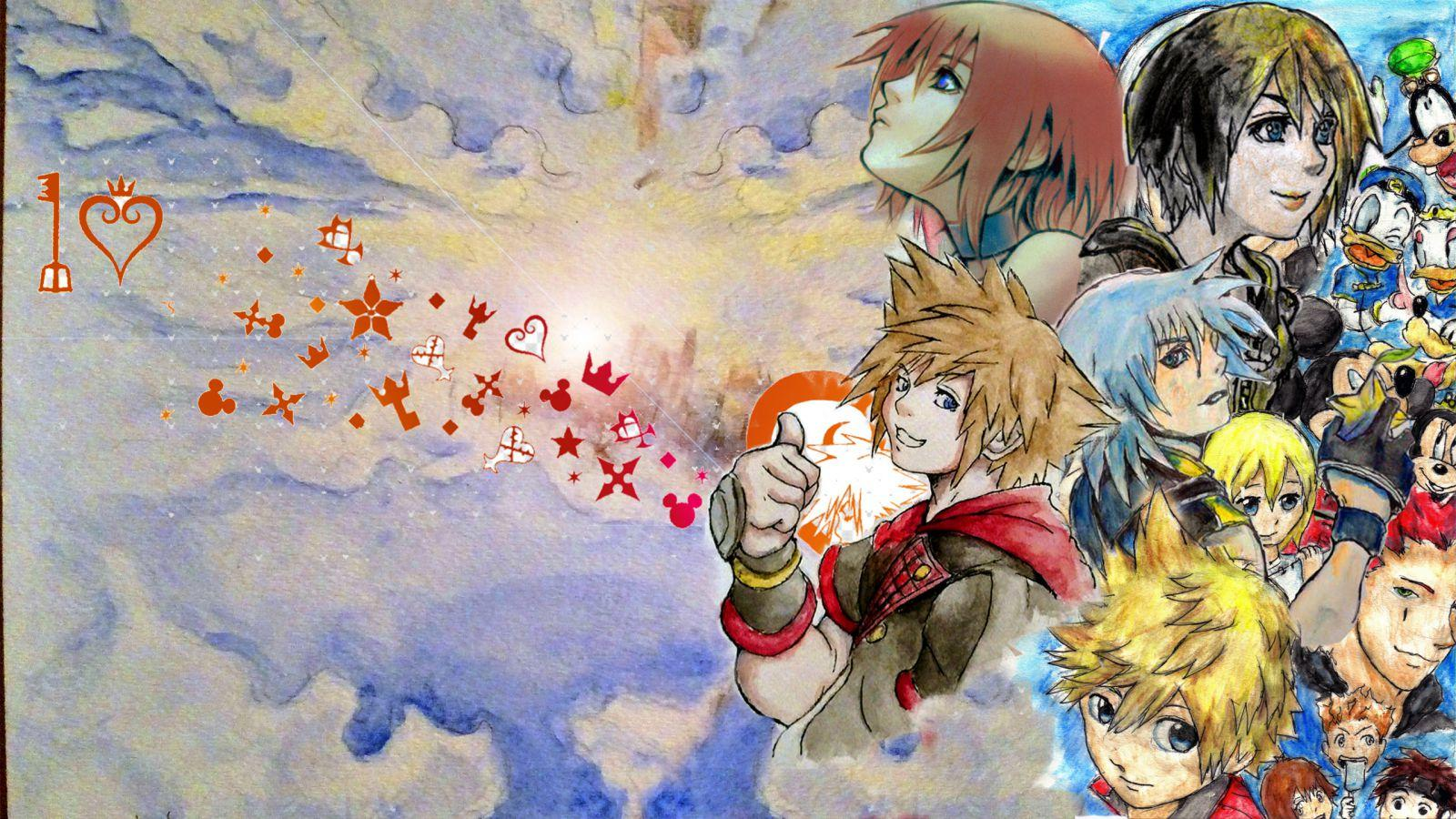 Youtube Channel Art Kingdom Hearts Wallpaper Wallpapers