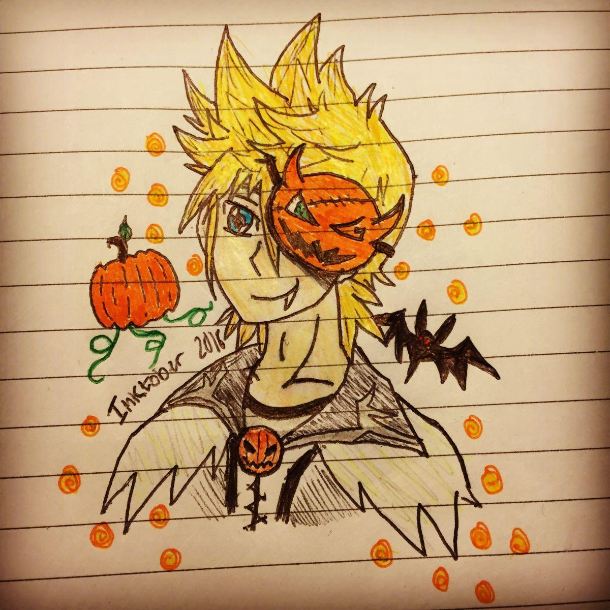 Roxas (Halloween Town Outfit)