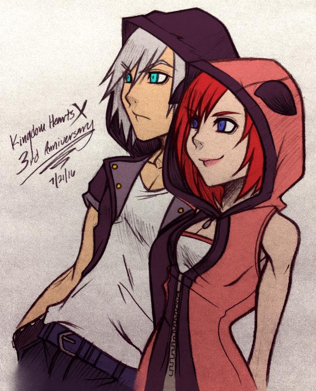 .: Riku and Kairi :.