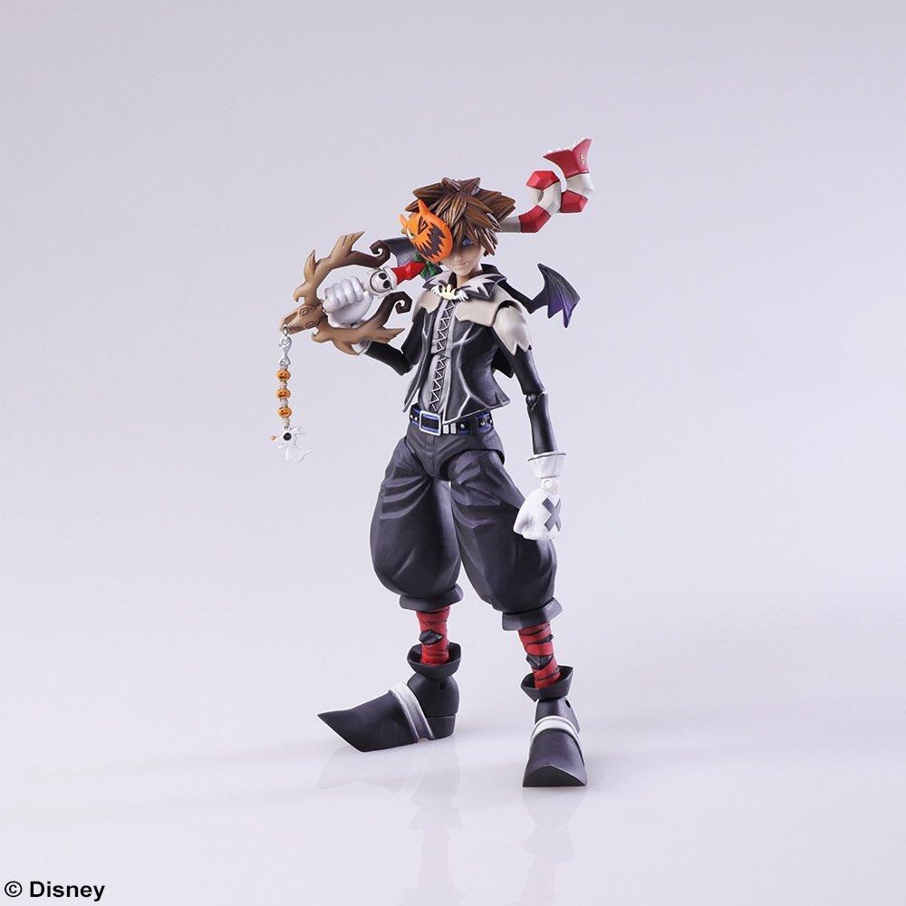 KHII Halloween Town Sora Bring Arts Figure