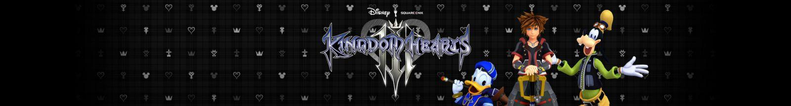 KINGDOM HEARTS III English Website