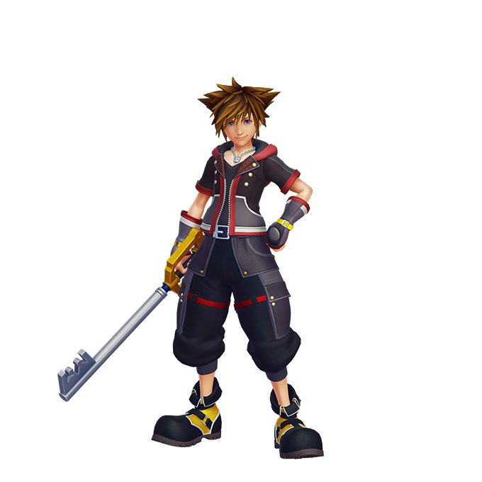 KINGDOM HEARTS III Character Renders