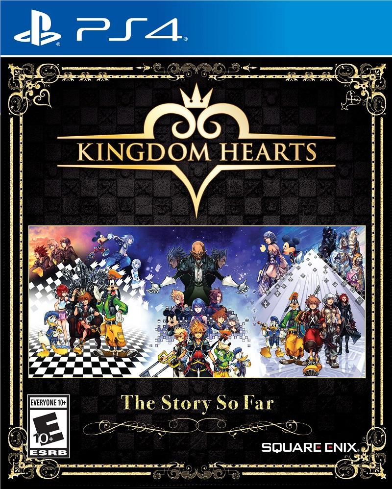 Kingdom Hearts– The Story So Far boxart