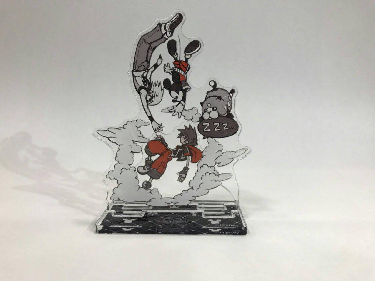 Kingdom Hearts HD 2.8 FCP Pre-Order Mini Acrylic Stands