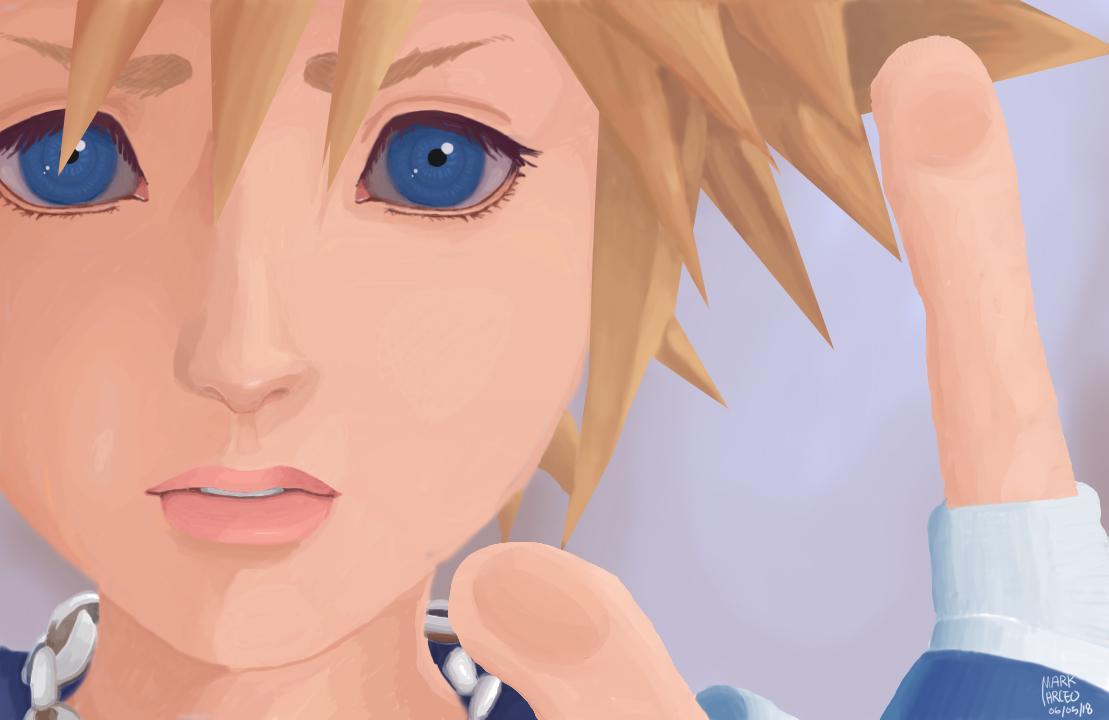 Sora digital painting fan art