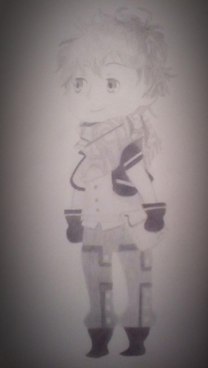 Ephemera (Kingdom hearts chi) pencil drawing