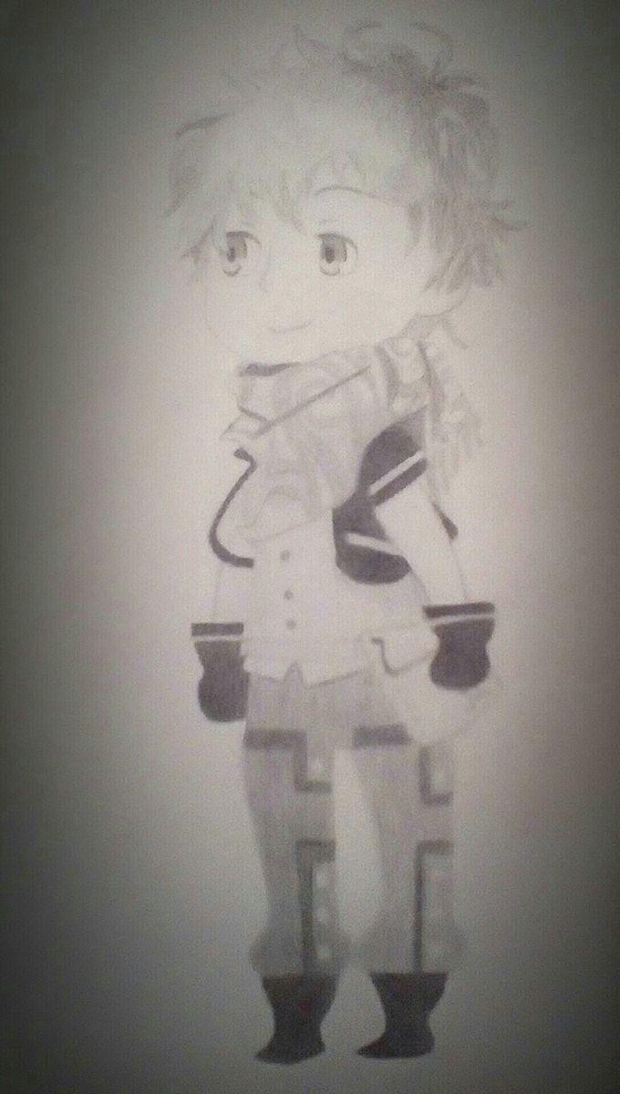 Ephemera (pencil drawing) less blurry version (hopefully)