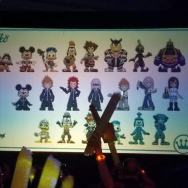 Kingdom Hearts Mystery Minis