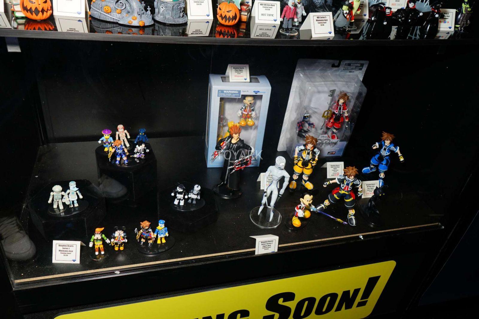Kingdom Hearts Diamond Select Toys NYCC 2017 13