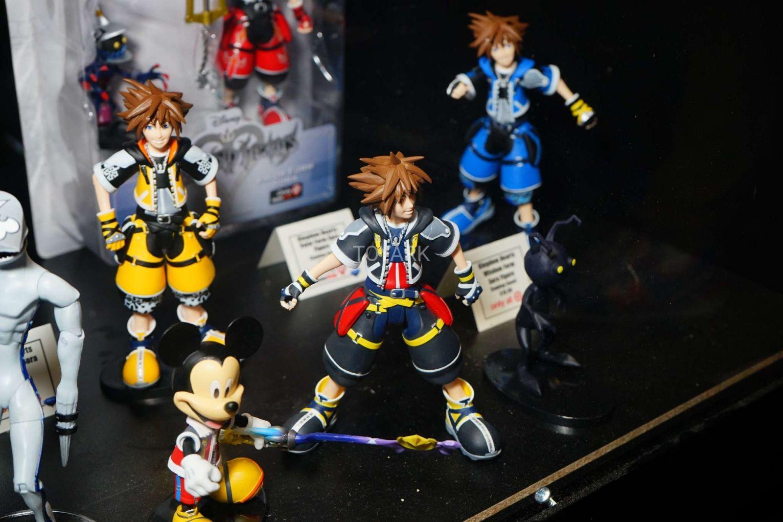 Kingdom Hearts Diamond Select Toys NYCC 2017 18