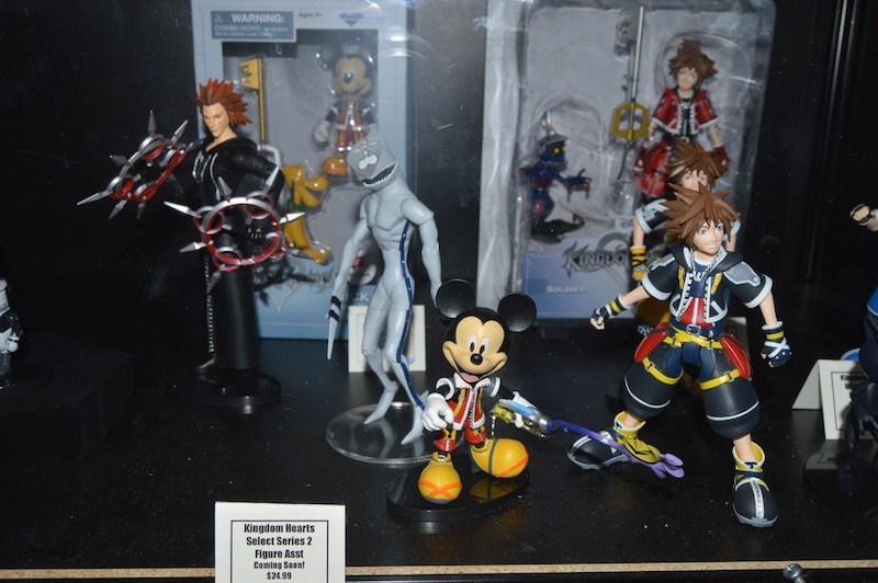 Kingdom Hearts Diamond Select Toys NYCC 2017 2