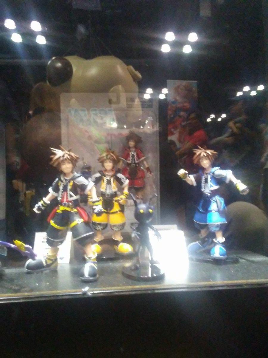 Kingdom Hearts Diamond Select Toys NYCC 2017 23