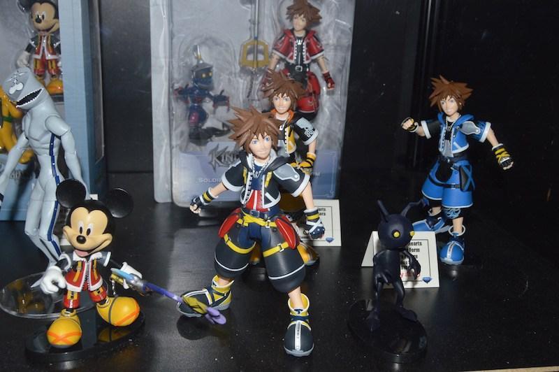 Kingdom Hearts Diamond Select Toys NYCC 2017 1