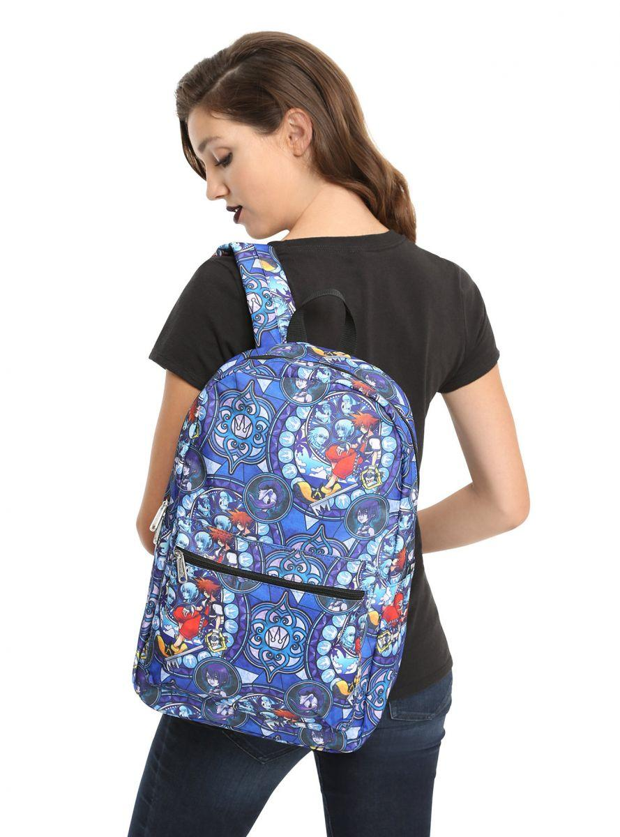 Kingdom Hearts Stained Glass backpack 1
